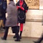 Забавная мода в московском метро