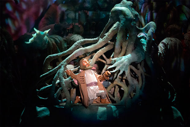 ?«Аленький цветочек» в Театре кукол им. С. Образцова - слайд 1