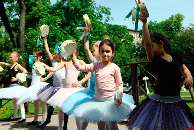 ?Благотворительный фестиваль «Ягодный компот» в Саду Эрмитаж - слайд 1