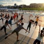 Международный день йоги 26 июня в парке МУЗЕОН