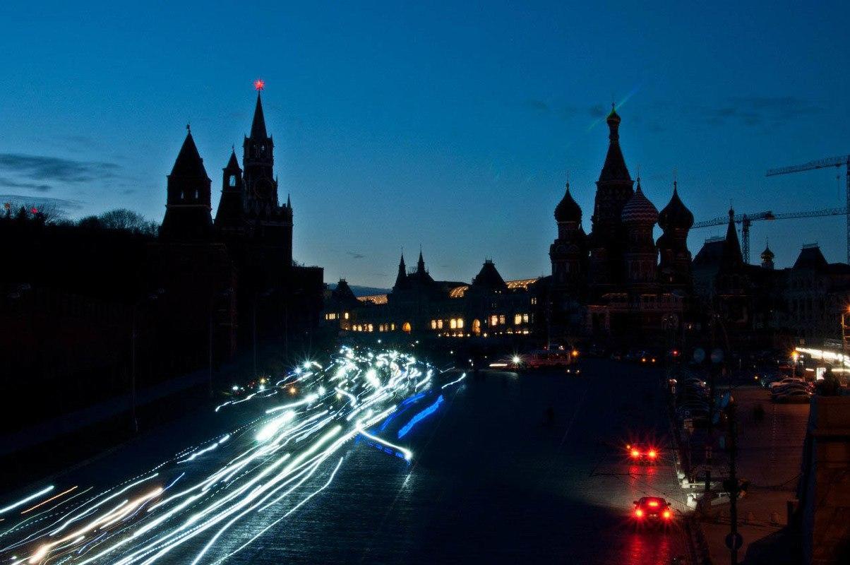 """""""Час Земли"""" пройдет в Москве 25 марта"""