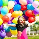 Фонтаны из воздушных шаров: варианты  для праздников