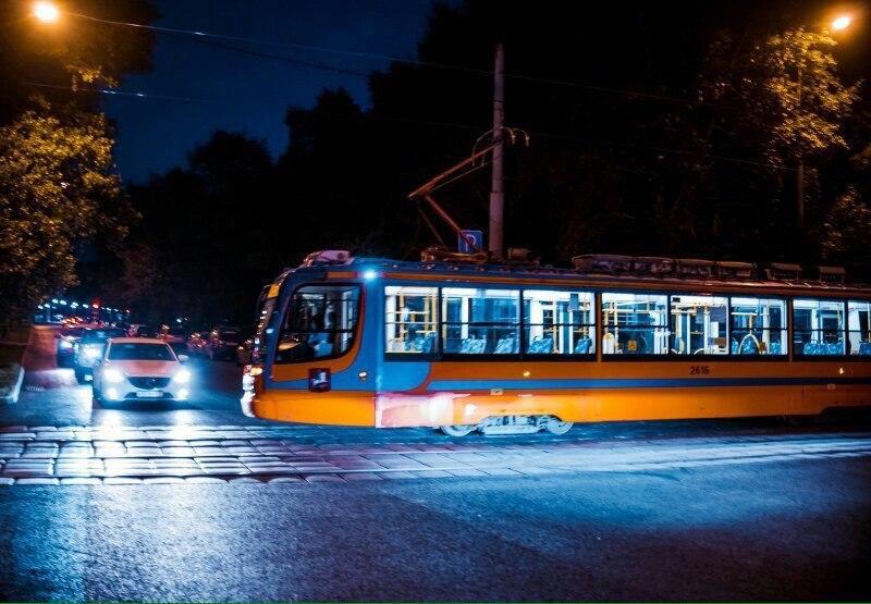 Ночной трамвай № 3 возобновил работу с 5 июня