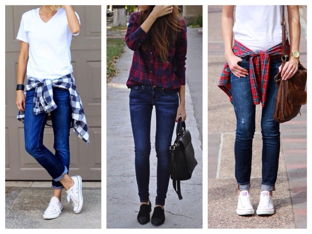 С чем носить синие джинсы: советы от Mario Muzi