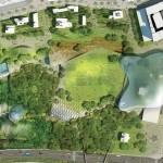 Парк «Зарядье» откроется осенью