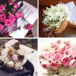 История возникновения цветочных букетов