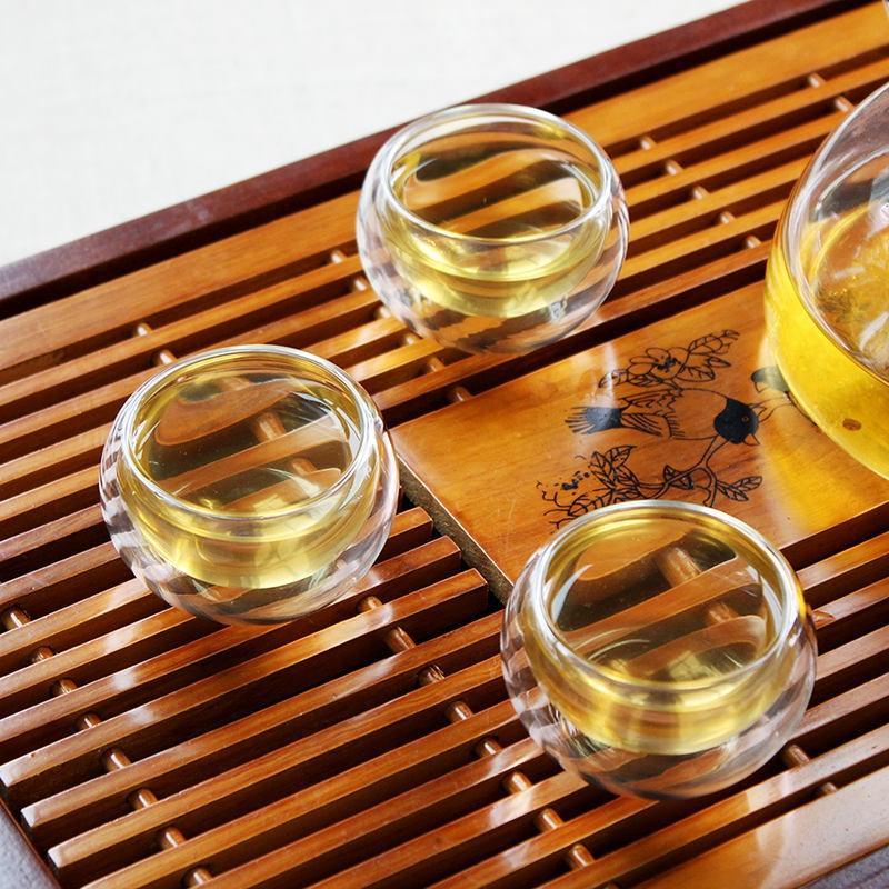 Стеклянные чашки с двойными стенками – эстетика и удовольствие чаепития