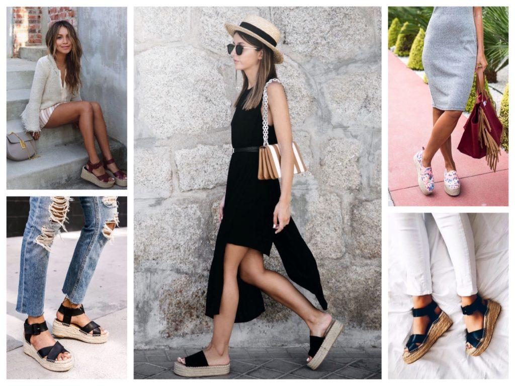 Эспадрильи – с чем носить модную женскую обувь?
