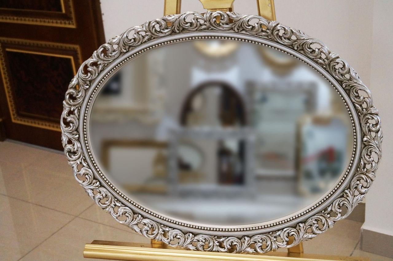 Выбор рамы для зеркала: виды, формы и материал