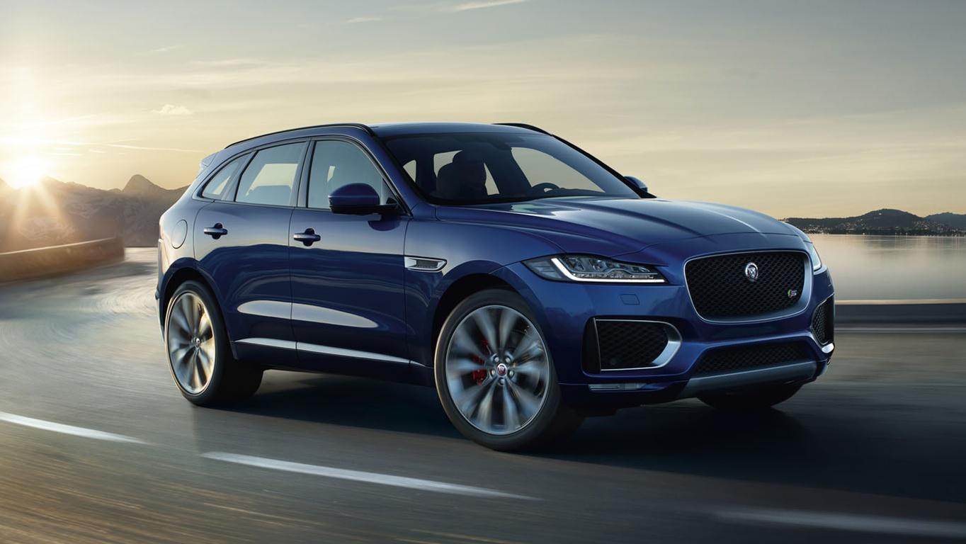 Jaguar F-Pace: разнообразие форм, стиля, широких возможностей