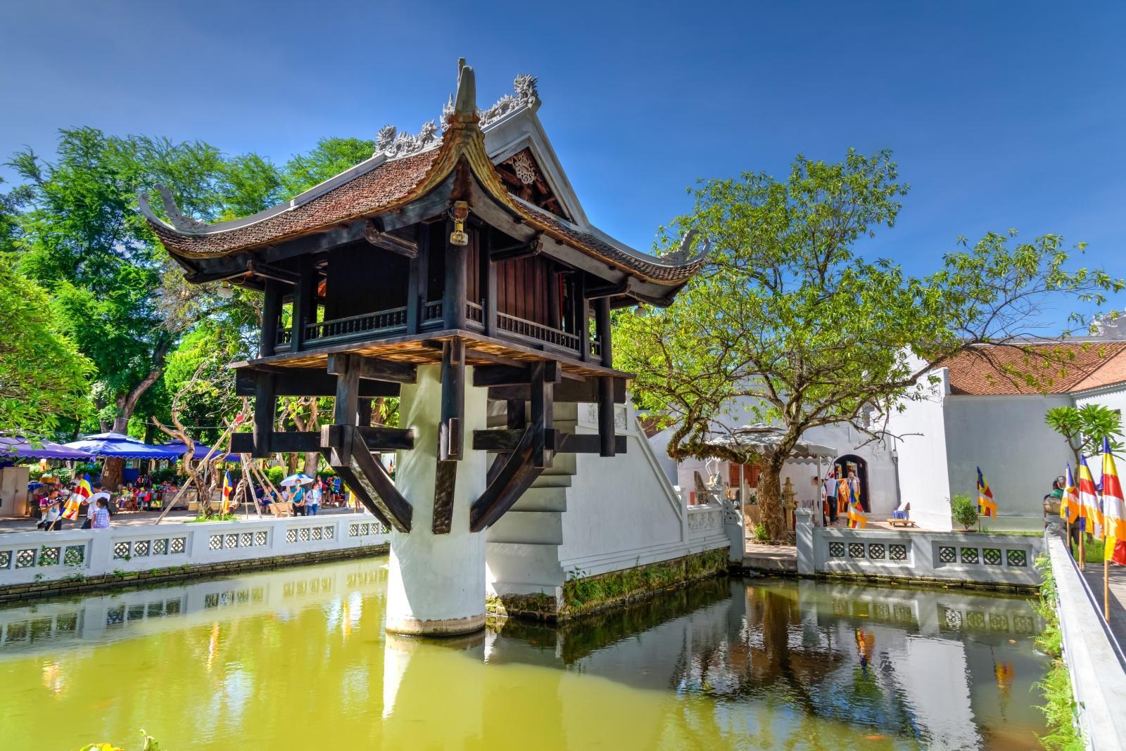 пагода One Pillar