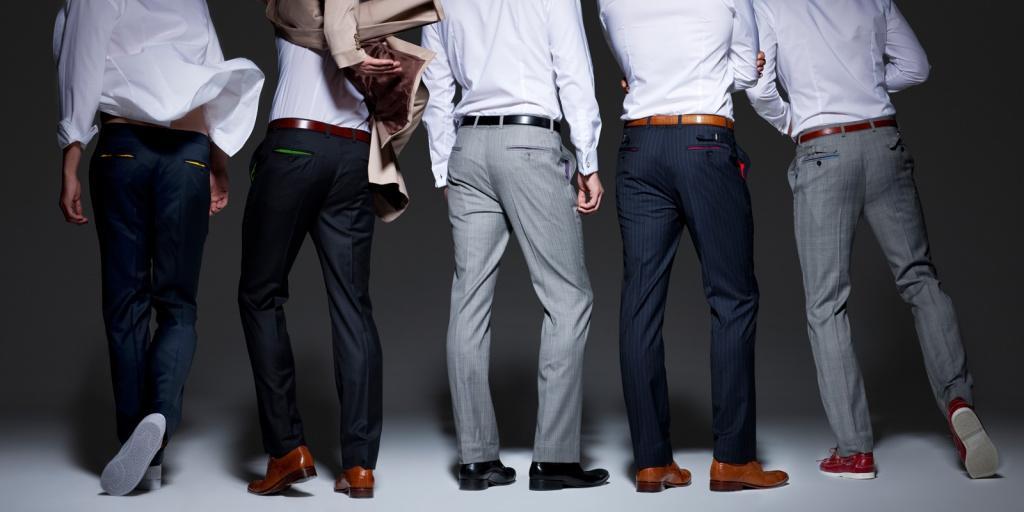Мужские брюки: виды, выбор размера и правильная посадка