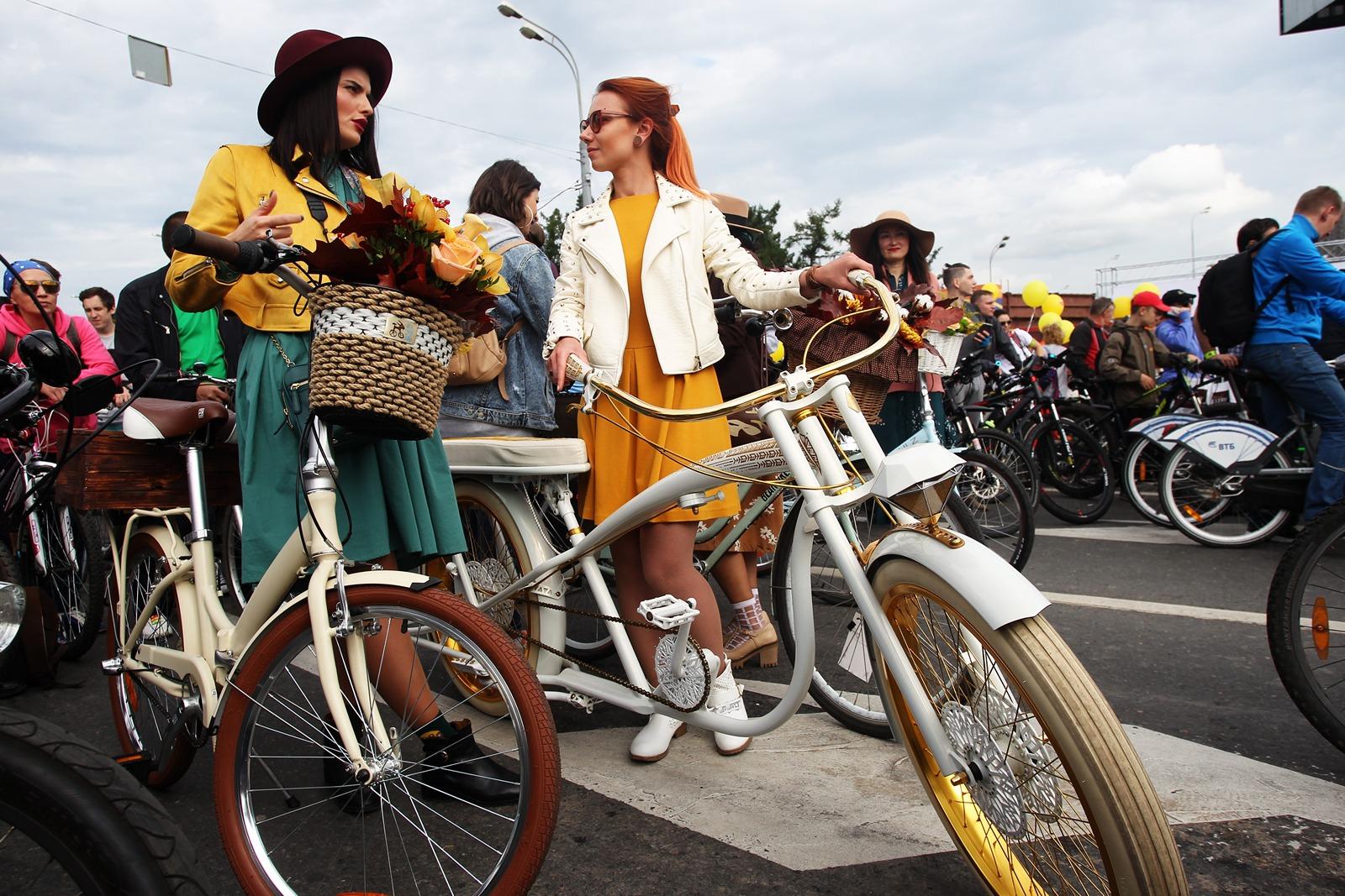 Велопарады в Москве
