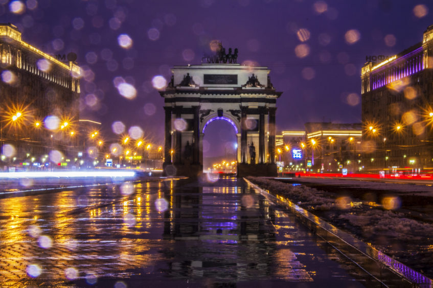 30 самых красивых мест в Москве ночью