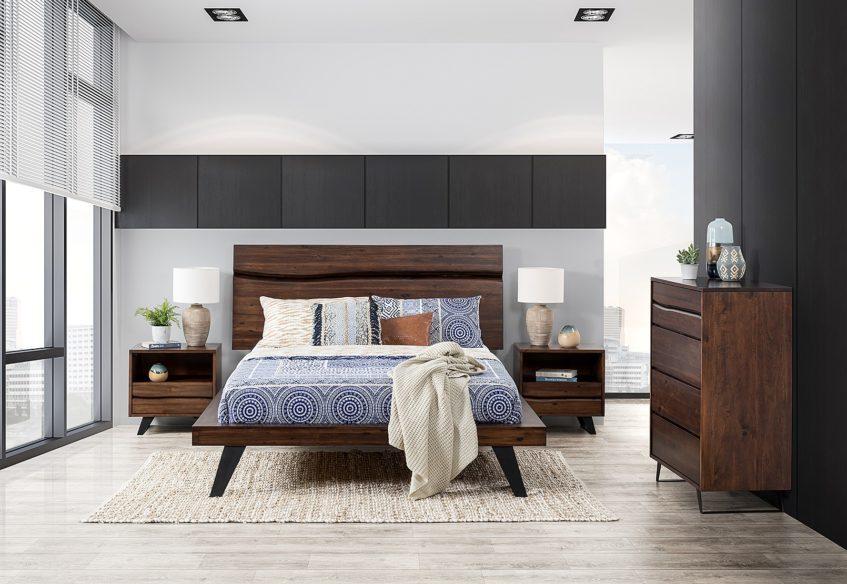 Дизайн спальни:  как обустроить большую комнату?