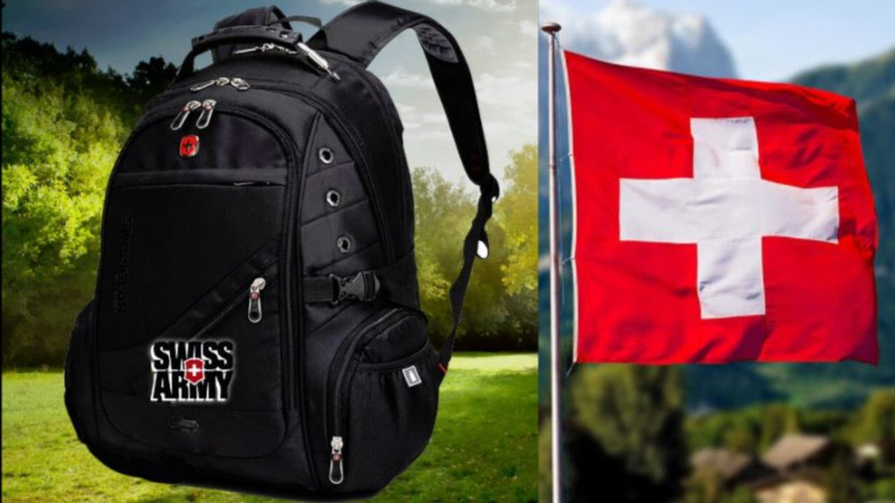 Рюкзаки Swissgear: преимущества и отличия