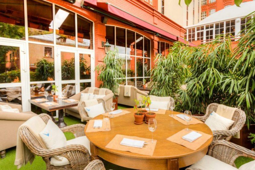 Ресторан «The Сад»