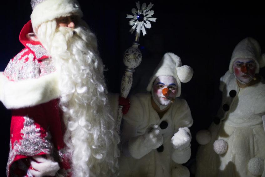 Новогодние праздники в Государственном Цирке (Цветной бульвар)