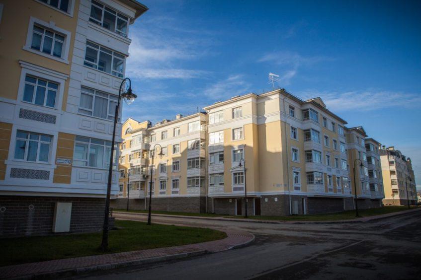 ЖК Александровский в городе Пушкин: престижный жилой район