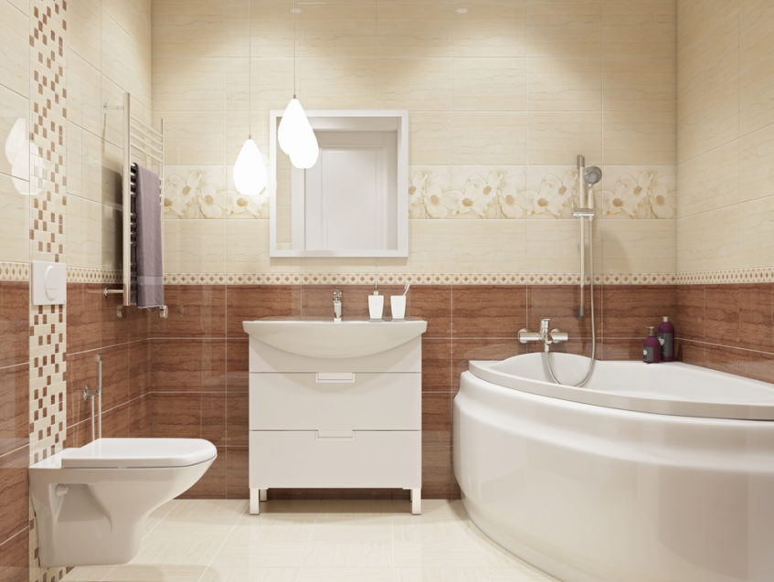 Как выбрать плитку для ванной комнаты