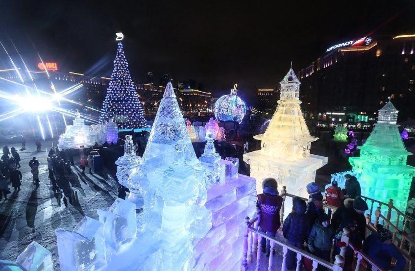Фестиваль «Ледовая Москва. В кругу семьи» на Поклонной горе