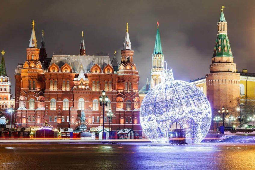 Программа новогодней ночи 2019 года в Москве