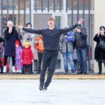 В парках Москвы будут проходить уроки фигурного катания