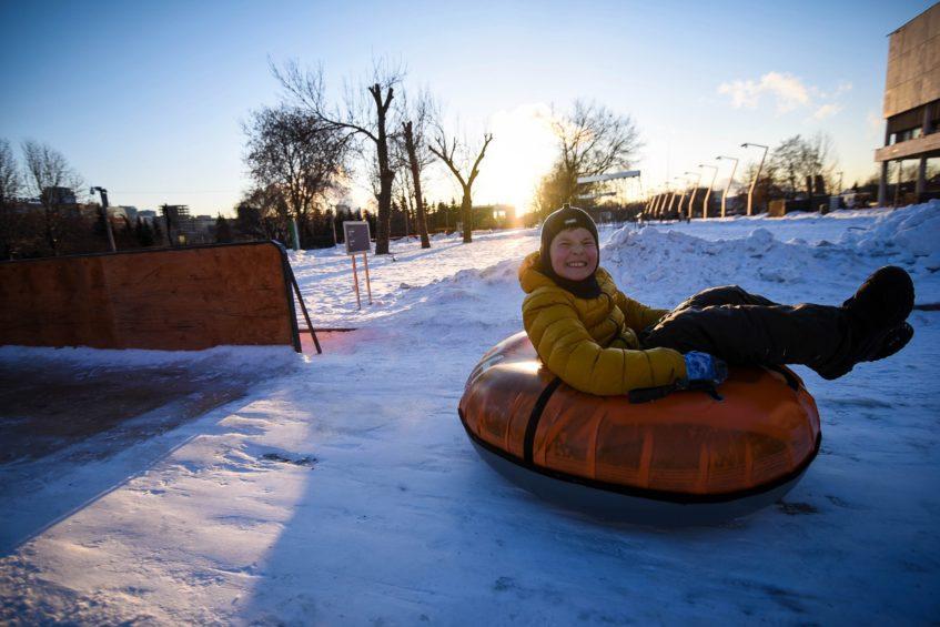 Где покататься с горок в Москве: Топ-18 снежно-ледовых горок
