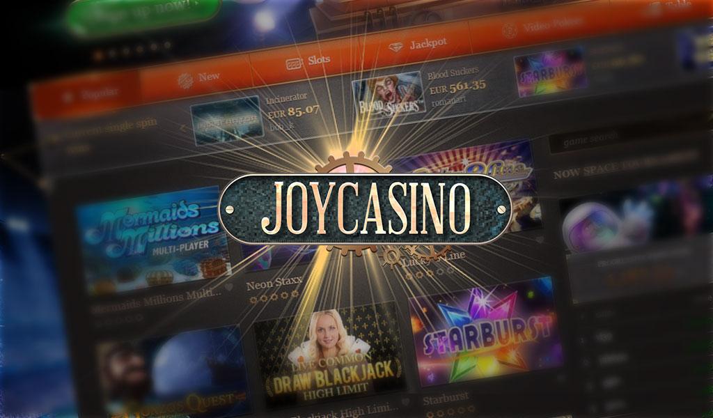 Шикарная коллекция Joycasino