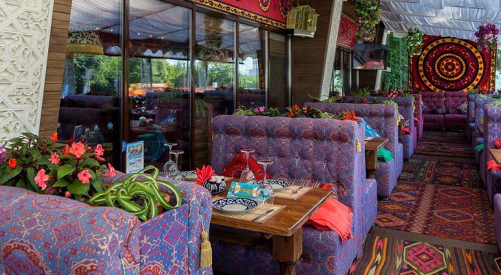 Ресторан Чайхана Павлин Мавлин (Аминьевское шоссе)