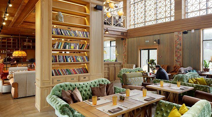 Ресторан Библиотека