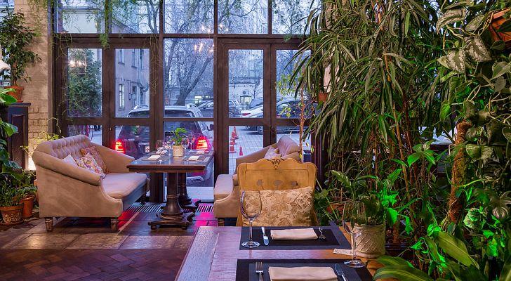 Ресторан The Сад / Зе Сад