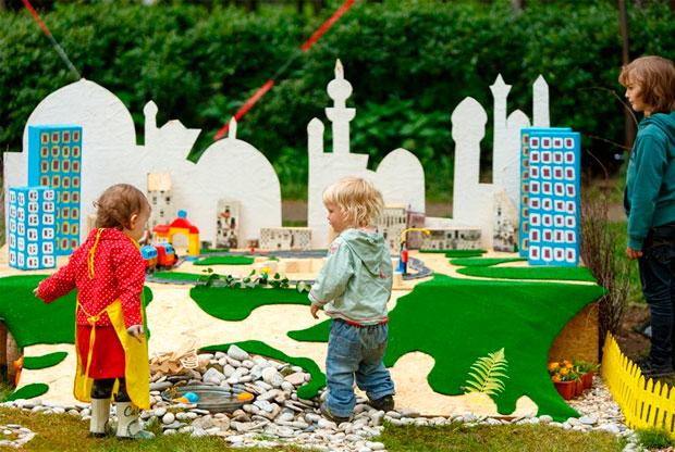 ?Детская программа Первого фестиваля дачной культуры «Дача fest» в «Сокольниках» - слайд 1