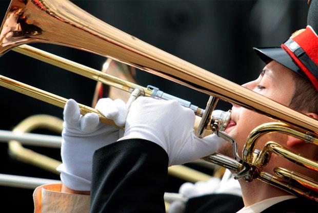 ?Фестиваль духовых оркестров на ВДНХ - слайд 1