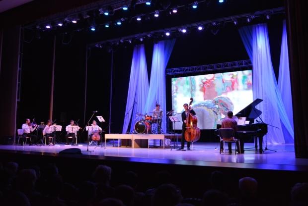 Концерт ко Дню защиты детей: Jazz Band Artnovi «Мультфильмы & Видеоигры. LIVE» - слайд 1