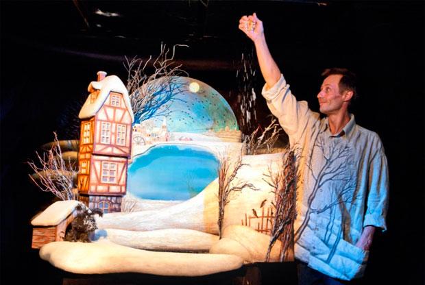 ?Спектакль «Снеговик» в Театре кукол им. С. В. Образцова - слайд 1