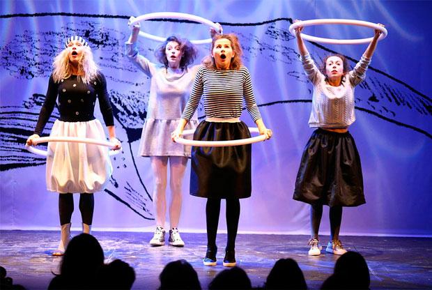 ?Спектакль «СтихоВаренье» на сцене театра Вахтангова - слайд 1