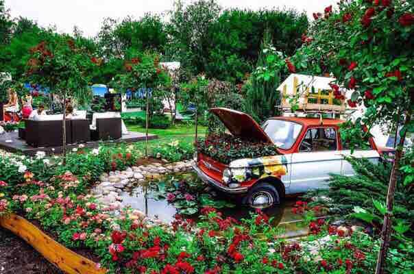 Фестиваль Садов и Цветов в Музеоне