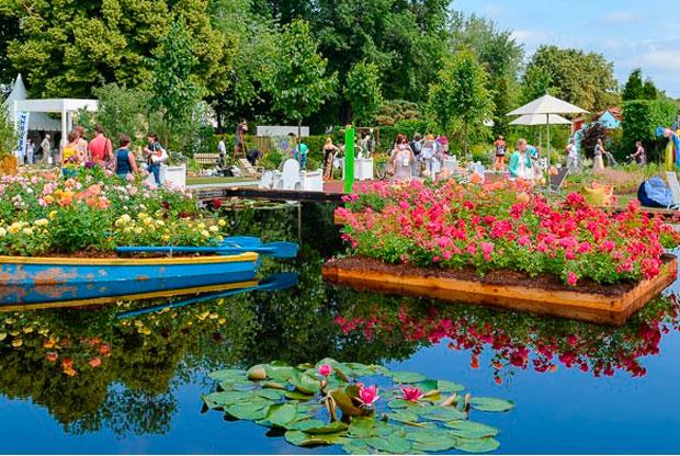 ?V Московский Международный Фестиваль Садов и Цветов - слайд 1