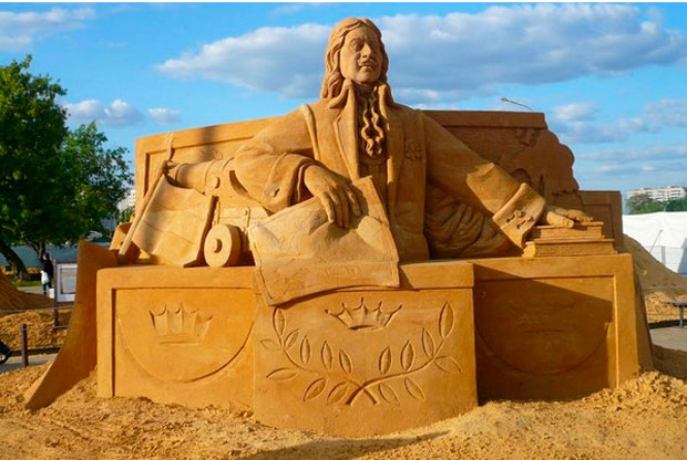 Выставка песчаных скульптур «Волшебный мир песка» в Коломенском - слайд 1