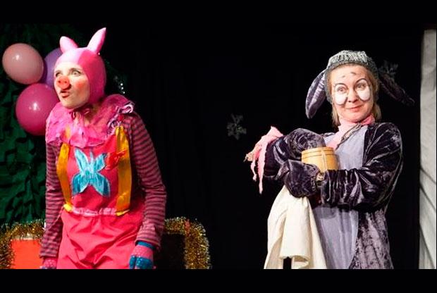 Спектакль «Приключения Винни-Пуха» в Театре «Событие» - слайд 1