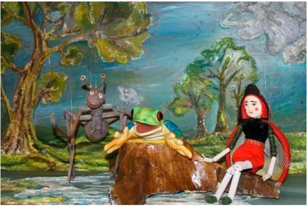 ?«Приключения Горошинки» в Детском клубе «Божья коровка» - слайд 1