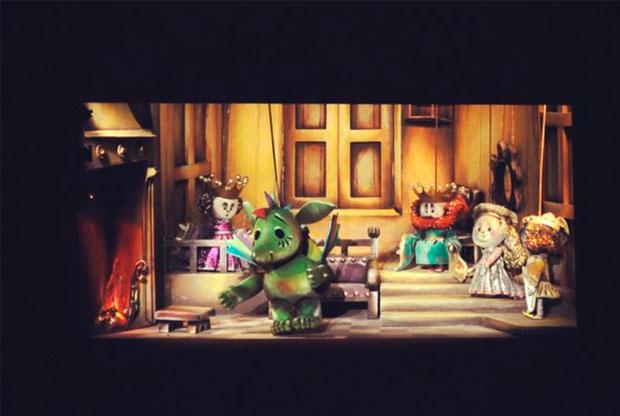 ?Спектакль «Приключения незадачливого дракона» в Театре сказки у Московских ворот - слайд 1