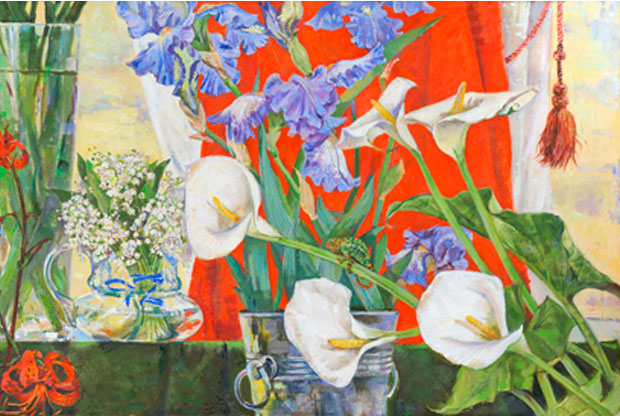 ?Выставка-квест «Азбука» Петра Фролова и «Парад цветов» Натальи Тур - слайд 1