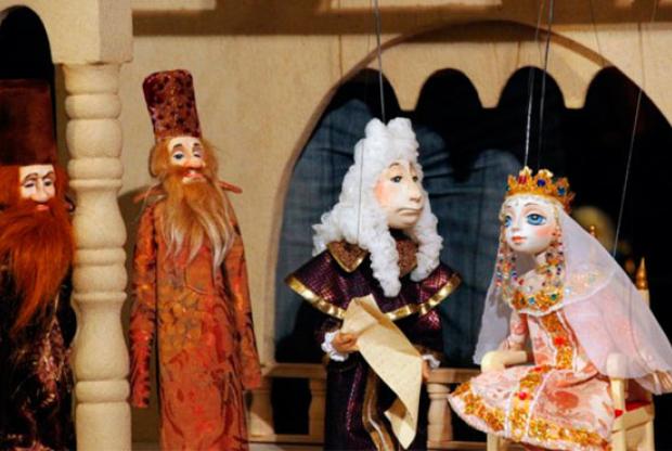 Спектакль «Царь-Девица» в Театре кукол им. С. В. Образцова - слайд 1