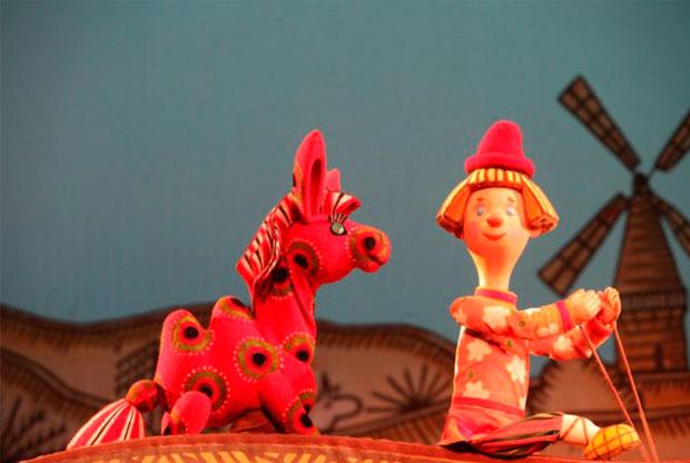 ?Спектакль «Конёк-Горбунок» в Театре кукол им. С. В. Образцова - слайд 1