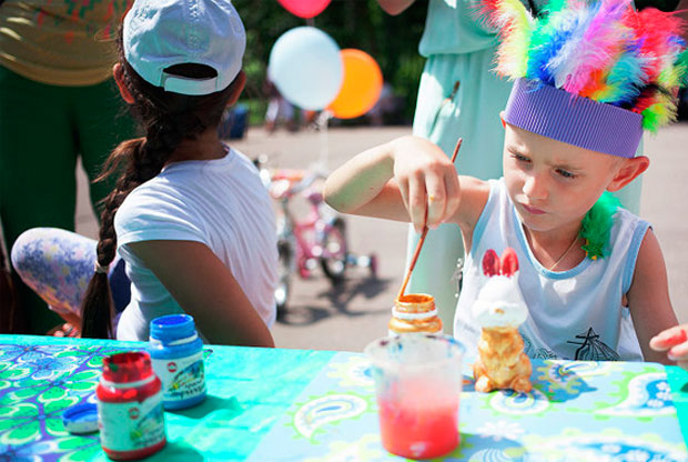 ?Детский фестиваль в парке «Сокольники» - слайд 1