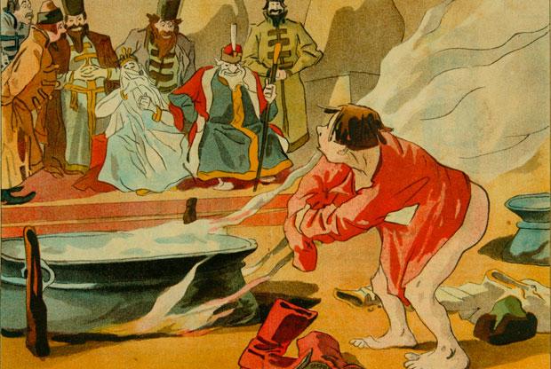 «Мир литературной сказки пушкинского времени» в музее А.С. Пушкина - слайд 1