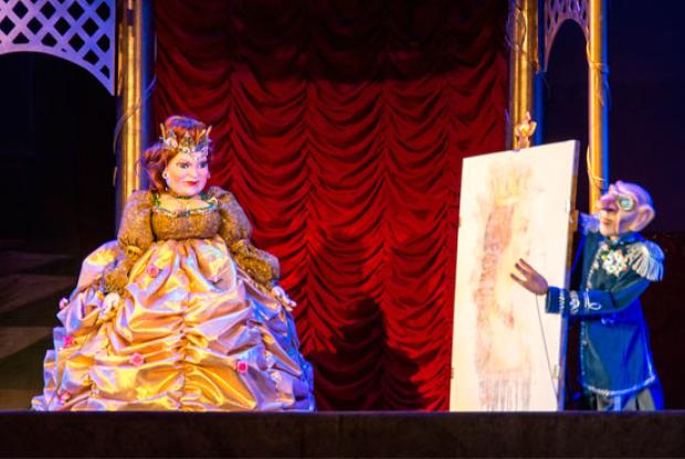 «Сказка про солдата, царицу и птичье молоко» в Сказочном театре - слайд 1