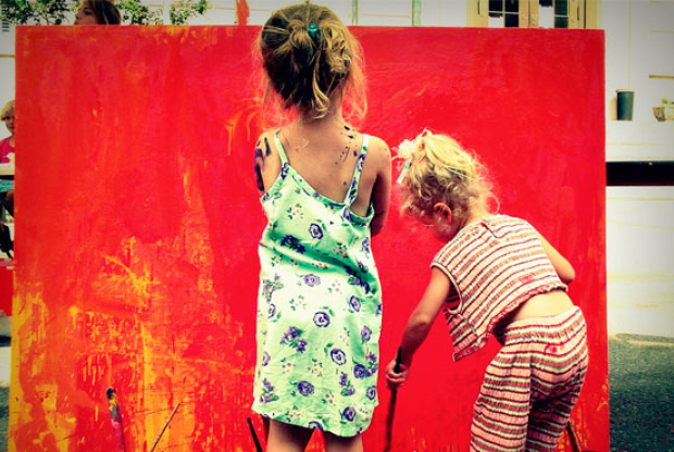 «Рисуем сами!» в Студии «Юный иллюстратор» в Доме Гоголя - слайд 1